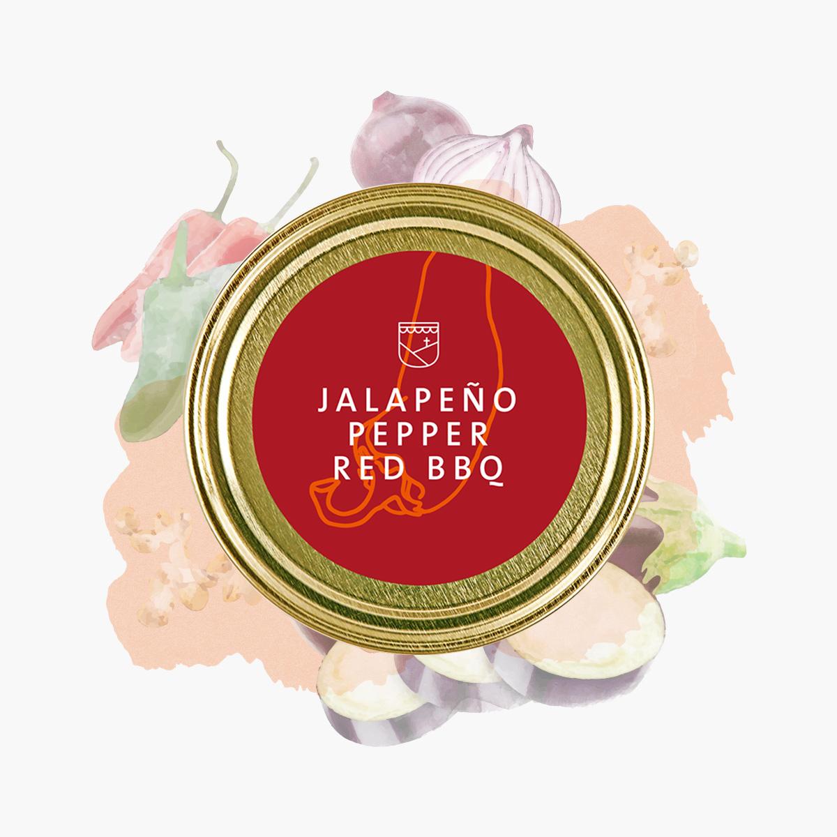 Jalapeno Pepper Red BBQ von Essendorfer