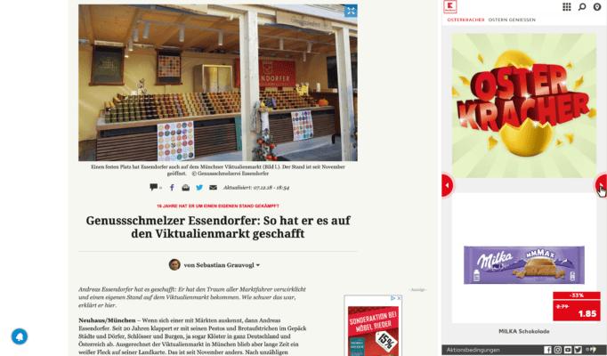 Essendorfer Viktualienmarkt