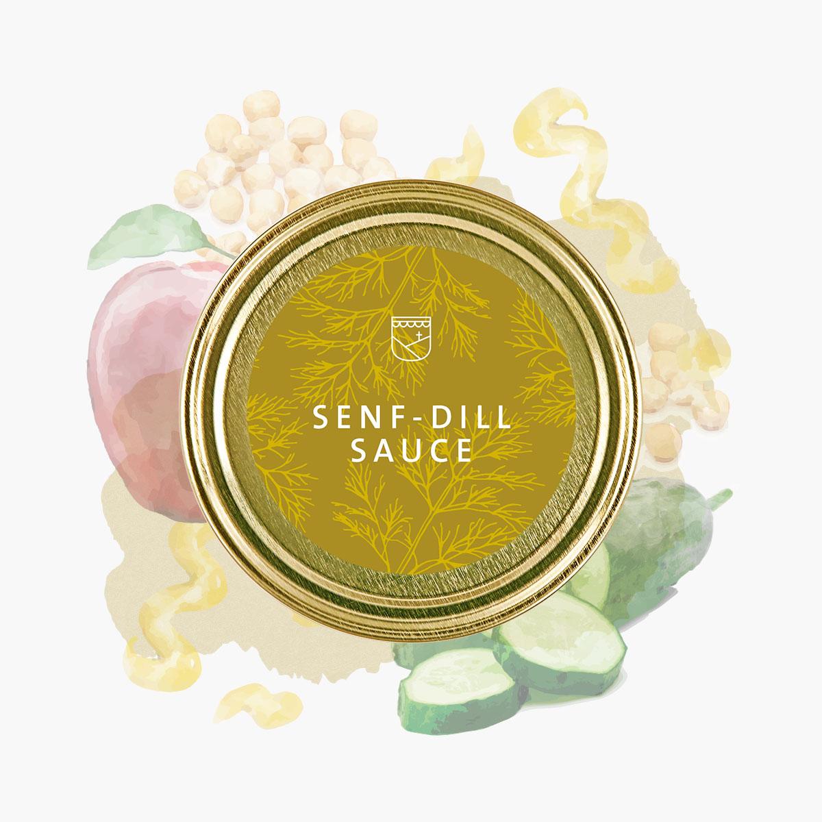 Senf Dill Sauce von Essendorfer