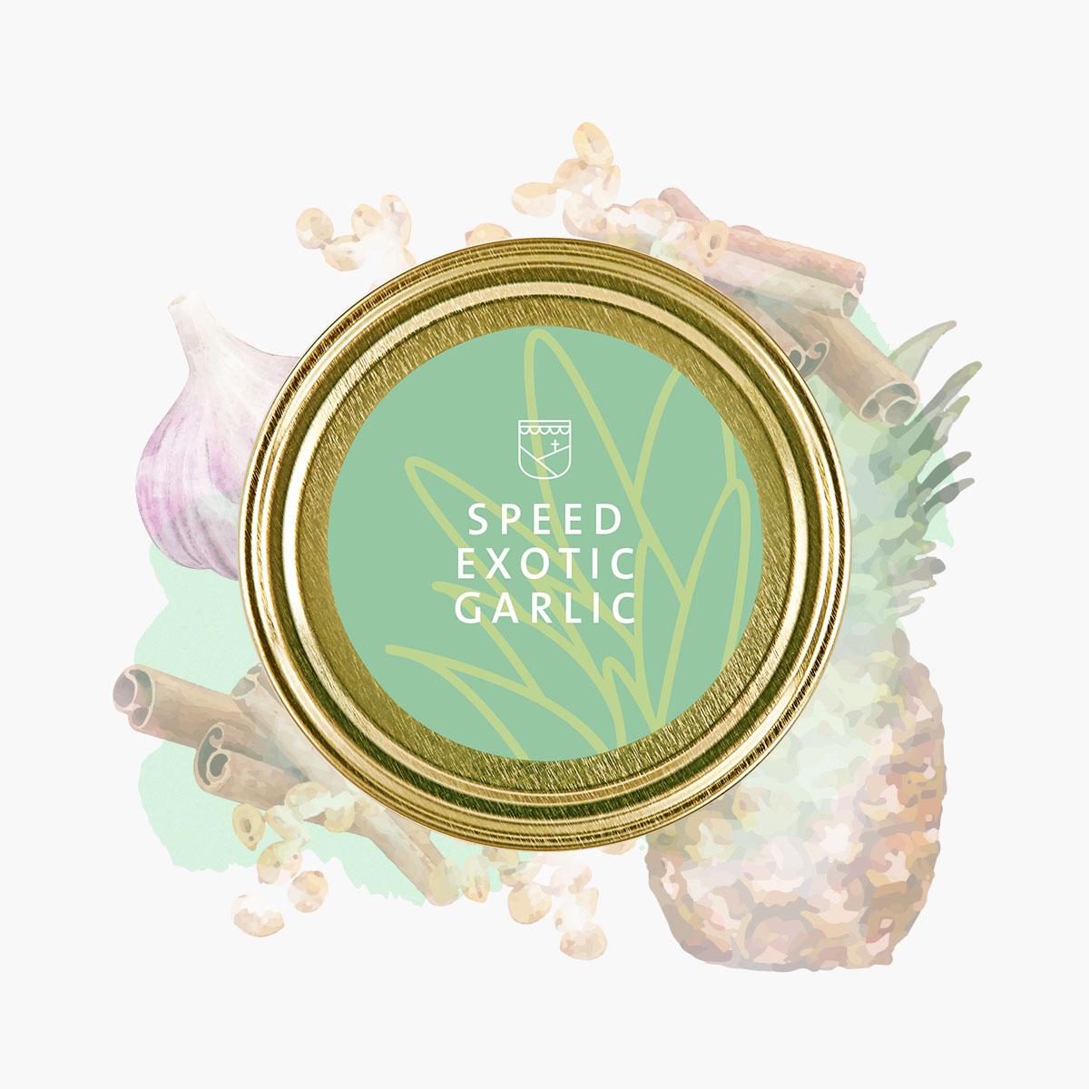 Speed Exotic Garlic von Essendorfer