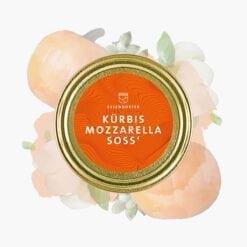 Kürbis Mozzarella Soße von Essendorfer